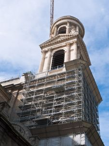 Free Paris And Church Restoration Stock Images - 16723484
