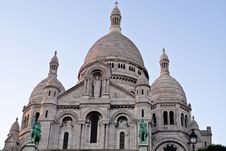Free Sacre Coeur Church In Paris France Royalty Free Stock Photography - 16723567