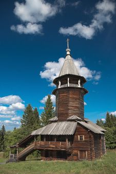Free Wooden Old Church Stock Photography - 16724162