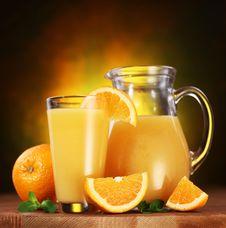 Free Orange Juice. Stock Images - 16724394