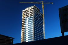 Almost Completed Building Stock Photo