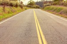 Free Empty Roadway Royalty Free Stock Photos - 16724768