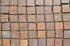 Free Square Red Clay Bricks Royalty Free Stock Photo - 16725065