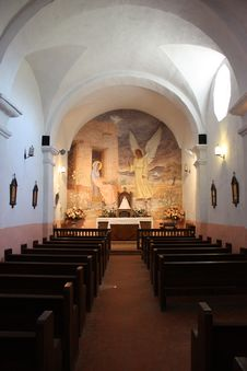 Free The Church At Presidio La Bahia In Goliad, Texas Stock Image - 16725601