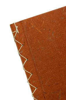 Free The Orange Cover Of Note Book Royalty Free Stock Image - 16725986