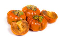 Free Ripe Persimmons Royalty Free Stock Images - 16726009