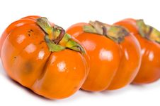 Free Ripe Persimmons Royalty Free Stock Image - 16726026