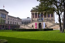 Free Museum In The City Center Stock Image - 16727151