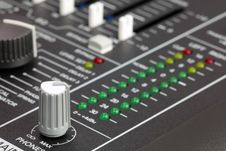 Free Mixing Console Stock Photography - 16727402