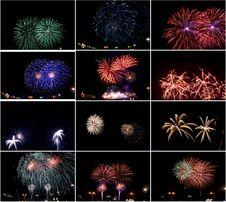 Free Fireworks Royalty Free Stock Photo - 16727515