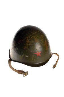 Communist Military Helmet Stock Photos