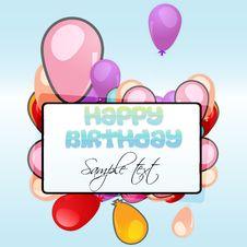 Free Birthday Card Stock Photography - 16728182