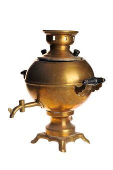 Free Old Samovar Stock Photography - 16728252