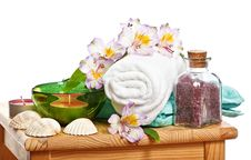 Free Spa Still Life Royalty Free Stock Images - 16728939