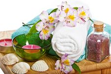 Free Spa Still Life Royalty Free Stock Photos - 16728958