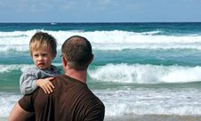 Free Father And Son Royalty Free Stock Photography - 16729947