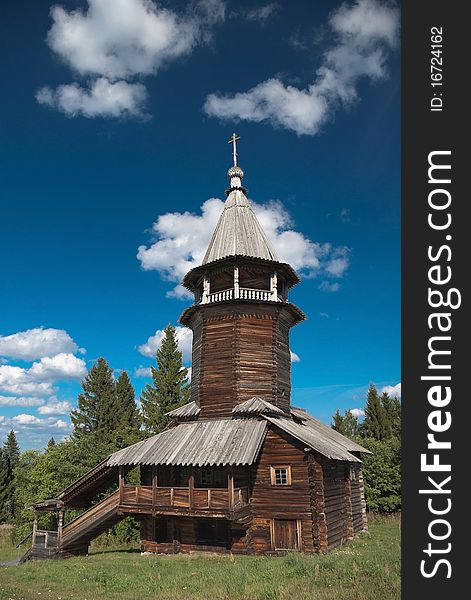 Wooden old church