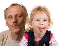 Free Dad And Daughter Stock Images - 16730404