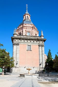 Free Chapel  San Isidro On San Andres Plaza In Madrid Stock Photography - 16730922