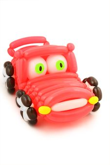 Balloon Car Royalty Free Stock Photos
