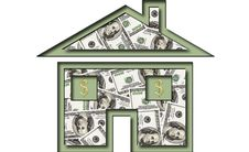 Free House Of Dollars Stock Photography - 16733982