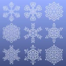 Free Snowflakes Royalty Free Stock Photography - 16734077