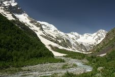 Free Mountain Tana On Caucasus Stock Photography - 16734882