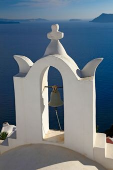 Free Bell Tower Of Church In Oia, Santorini Royalty Free Stock Photography - 16734967
