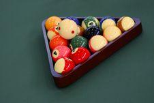 Free Billiards Game Full Of Fun Stock Image - 16735861