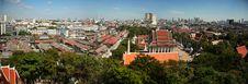 Free Panorama Of Bangkok City Stock Photos - 16736873