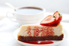 Free Cheesecake Stock Photo - 16737860
