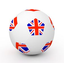 Free Soccer Ball (3D Illustration) Stock Images - 16737874