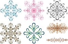 Free Ornaments Elements Royalty Free Stock Photo - 16738095
