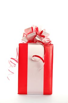 Free Red Gift Royalty Free Stock Image - 16738146