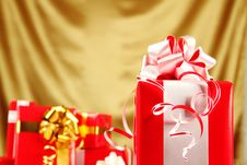 Free Christmas Gifts Royalty Free Stock Images - 16738199