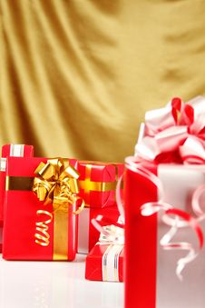 Free Christmas Gifts Stock Images - 16738224