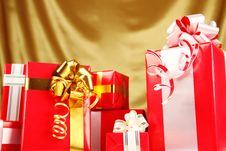 Free Christmas Gifts Stock Image - 16738261