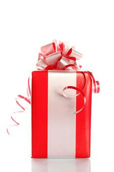Free Red Gift Royalty Free Stock Photos - 16738478