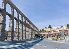 Free The Ancient Aqueduct In Segovia Stock Photo - 16739010