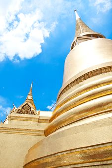 Free Thai Temple Royalty Free Stock Photography - 16739037