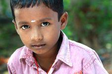 Free Innocent Indian Village Boy Stock Photo - 16739110