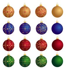 Free Christmas Balls Royalty Free Stock Photography - 16739547