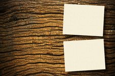 Free Papers On Wood Stock Image - 16739821