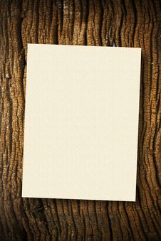 Free Paper On Wood Stock Images - 16739934