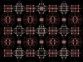Free Fractal Tile Background Stock Photography - 16742032