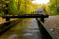 Free Water Flowing In Mingus Mill Stock Photography - 16745502