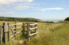 East Hill Country Park, Hastings Royalty Free Stock Photography