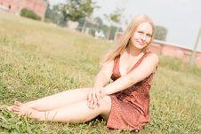 Free Summer Portrait Stock Photography - 16741072