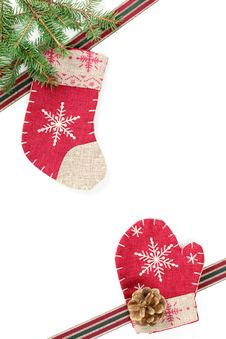 Free Christmas Gift Decoration Royalty Free Stock Photography - 16741227