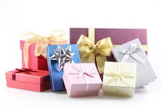Free Gift Boxes Royalty Free Stock Photography - 16741387
